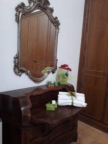Camera matrimoniale sempre con bagno in camera privato