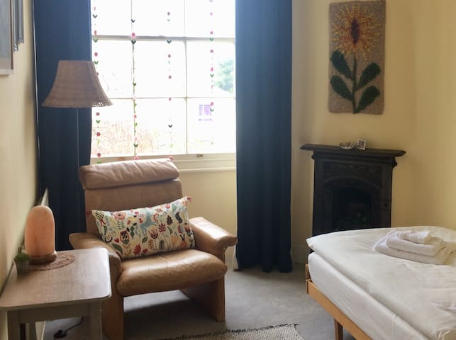Lovely bright single room in quiet period home