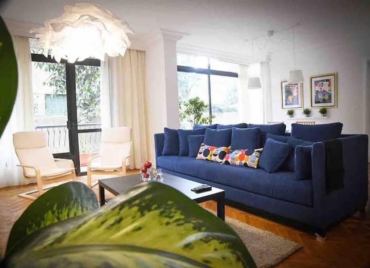 Cozy & Fresh 3Br. Apartment in Maadi Sarayat **