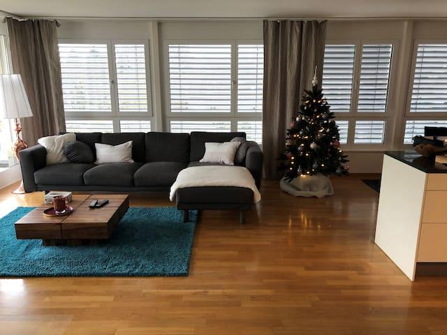 Ruhig und zentral mit grosser Dachterrasse