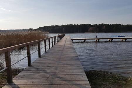 Urlaub am See im schönen naturbelassenen Mecklenburg-Vorpommern nahe der Ostsee