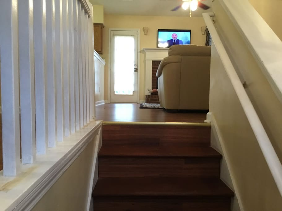 A view from the Foyer Stairs