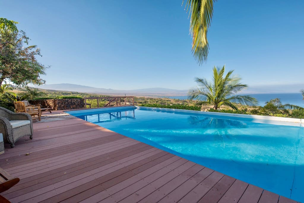 Expansive Ocean Views from the Lap Pool