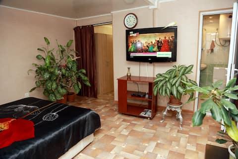 Апартаменты в самом центре города Сухум