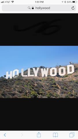 Hollywood gated house