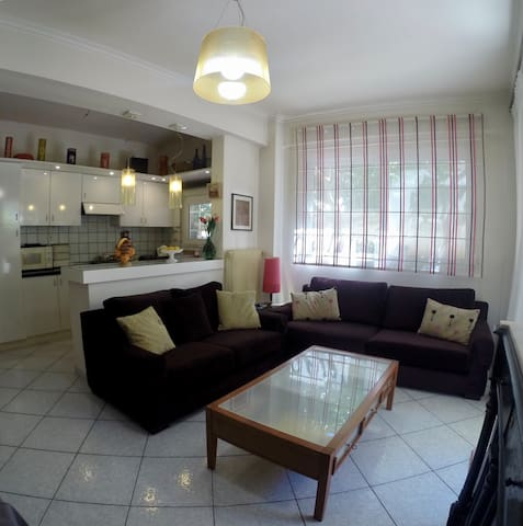 Secure and equipped maisonette by the sea - Paleo Faliro - Apartament