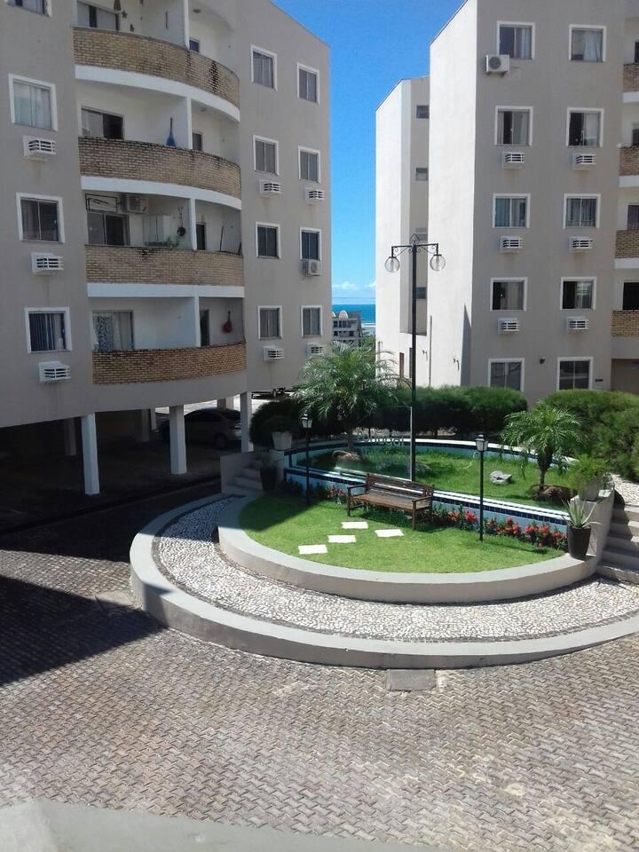 Apartamento próximo à praia do Porto das Dunas