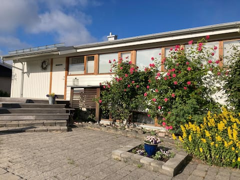 Härligt hus nära havet och Göteborgs centrum