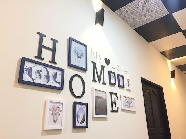 <徵長租> HOME幸福公寓-2房2衛1廳/停車位/近機場