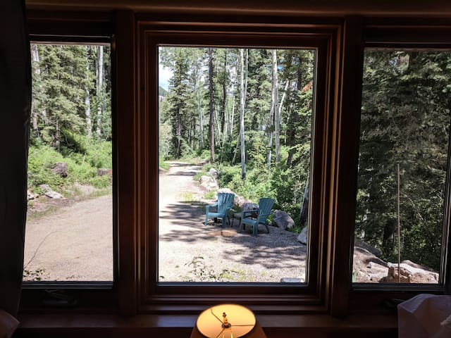 The Refuge: quiet, private, wooded!
