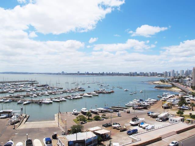 Apartamento nuevo frente al Puerto Punta del Este