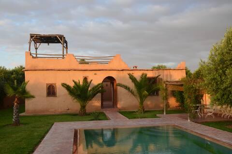 Superbe maison familiale à 30 min de Marrakech