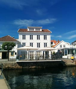 Oceanfront apartment in Risør (2) - Risor - 公寓