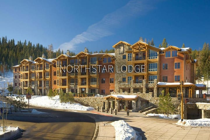 Northstar Lodge right next to the village