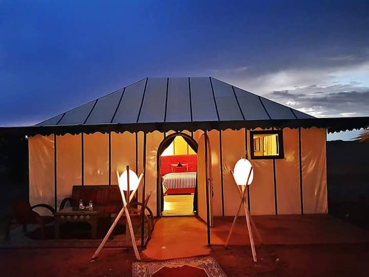 merzouga Luxury camp and camel treks experience