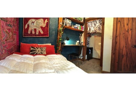 Cozy Private Room and Bath in Home, Downtown CB - 克雷斯特德比特(Crested Butte)