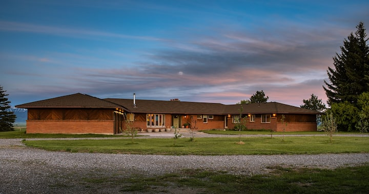 Teton Views - Sleeps 20 on a working Dude Ranch!