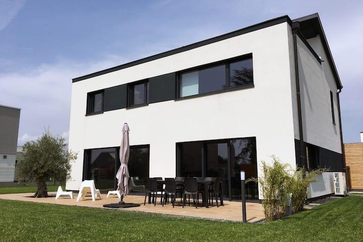 Maison d'architecte dans la périphérie de Colmar