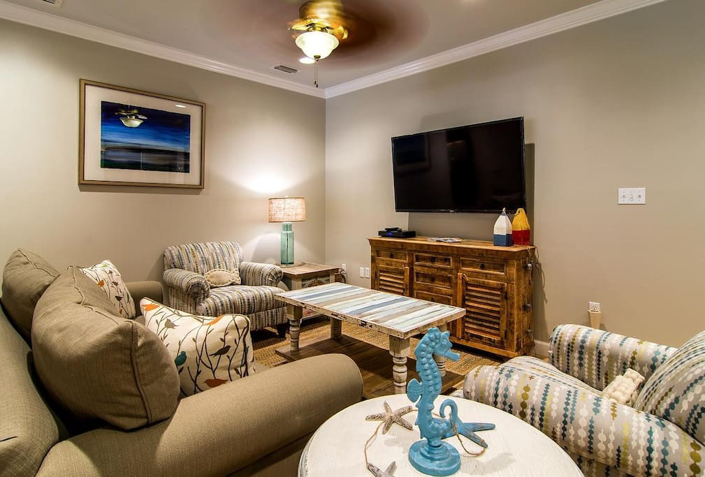 Inviting Living Area with Fun