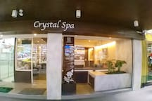 Spa and massage nearby.