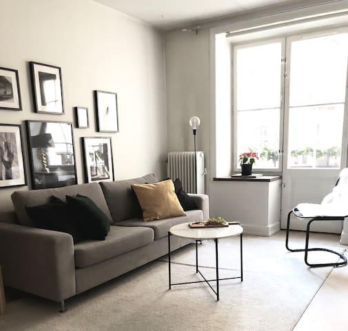 Trendy 49sqm apartment in the heart of Vasastan