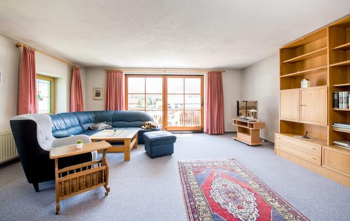 Wonderful bright apartment with balcony
