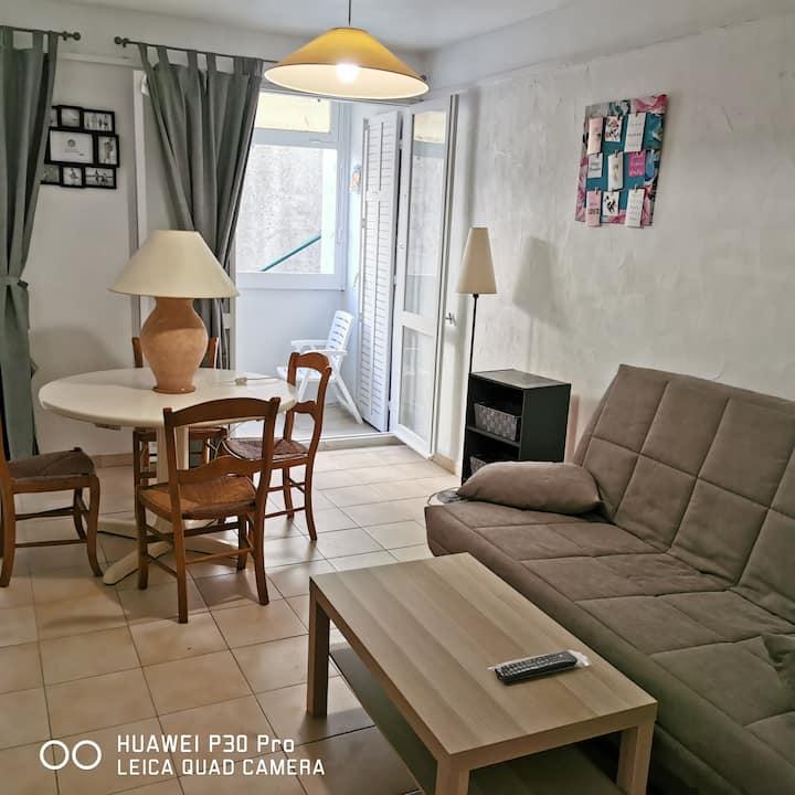 Jolie appartement de 28m2 et terrasse plein centre