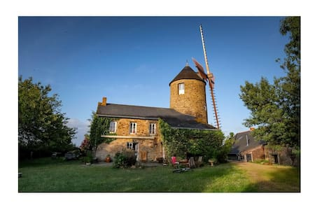 Le Moulin de Bel Air: Location Grand eco gîte