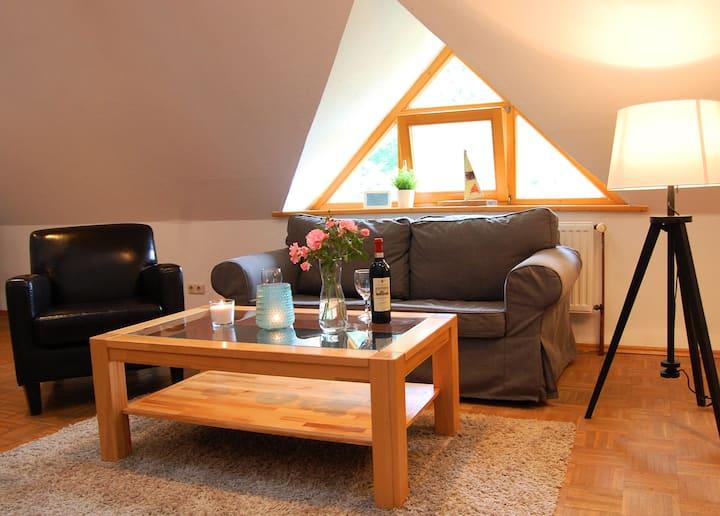 Komfortables Gästezimmer auf Hinners Hoff