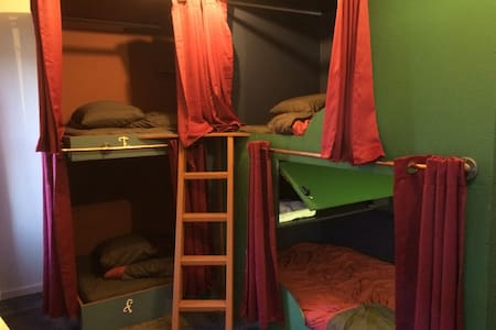 Redlight Bunk Bed in Downtown Truckee - Truckee