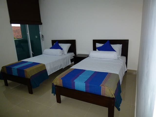 2nd bedroom with single 2 bed,