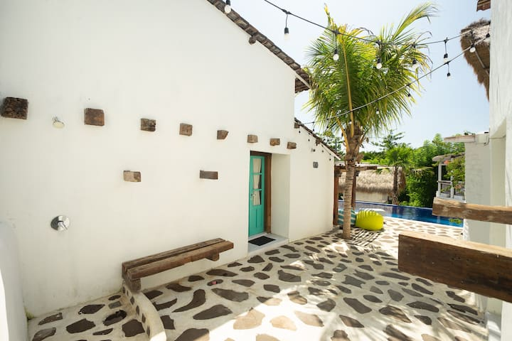 Little Santorini Loft near Padang Padang Beach #4
