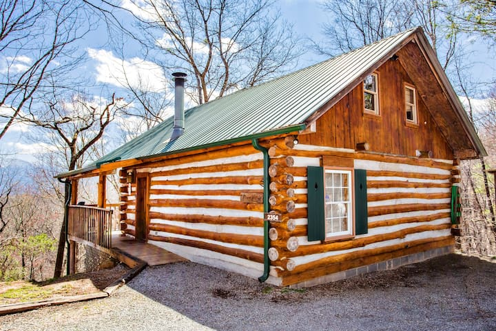 The Pine Knot Cabin, 3 nt.$150, 1wk. $280 thru Apr