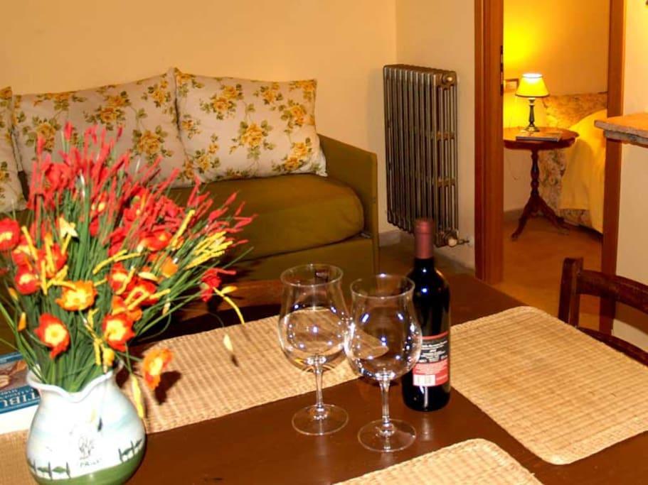 Agriturist Prile - Living room