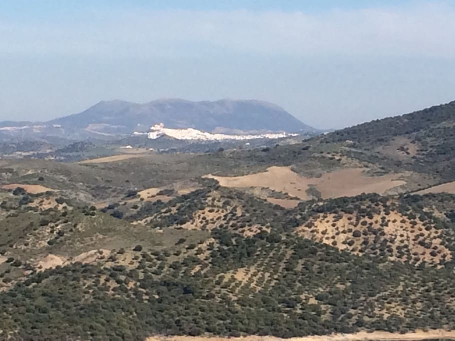 Olvera from a distance.