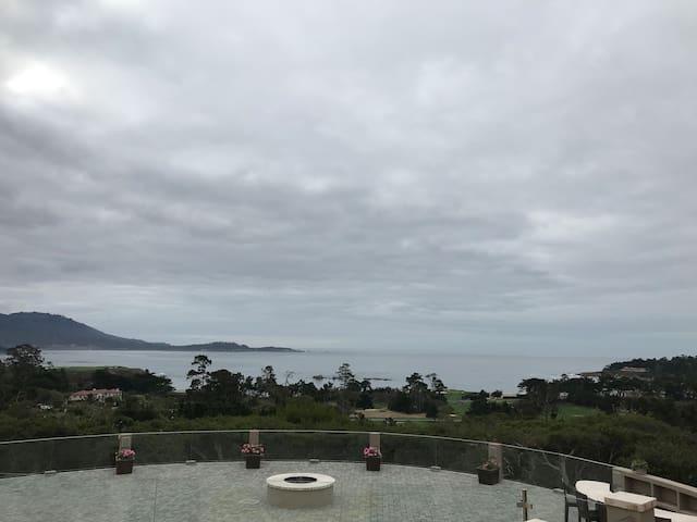 Ocean View Pebble Beach Estate