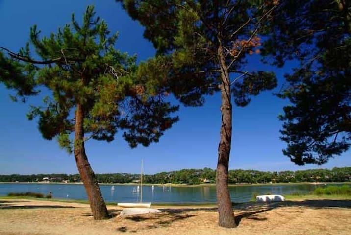 T2 neuf au pied du lac Hossegor pour 4 personnes