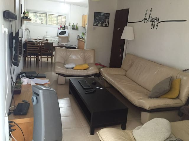 central 3 rooms + 2 backyards apartment - Be'er Sheva - Apartment