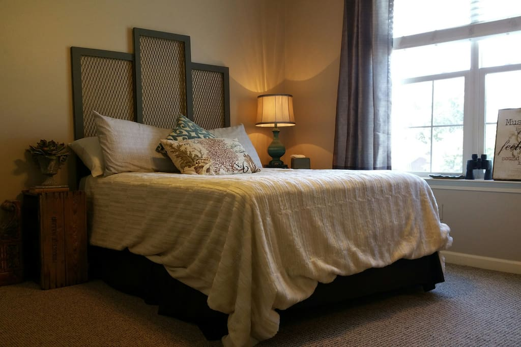You'll feel so relaxed here you'll think you've stepped into a high-end B&B