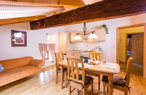 Ferienwohnung Rachel (72qm) mit Geschirrspüler für 5 Personen ( Landurlaub bei Familie Haug)