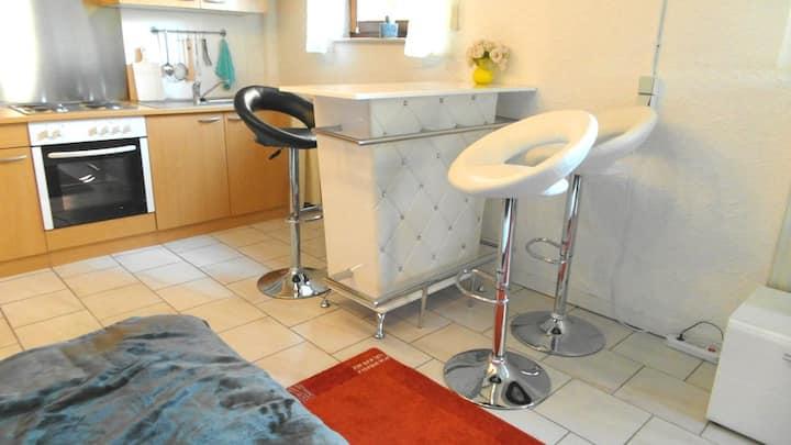 Modern eingerichtetes 25 m² Appartement