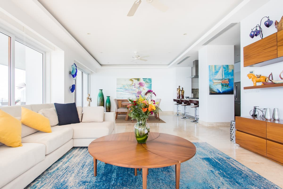 Magnificent Oceanfront Condo at Sayan Beach