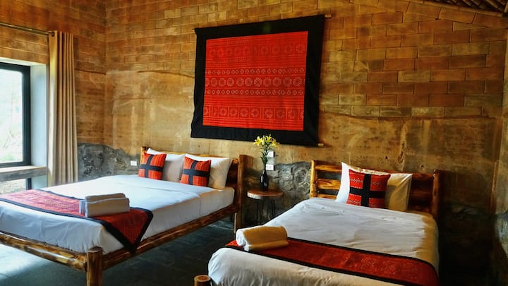 Bungalow#1-Hoang Lien Son: Sapa Mountain Eco Lodge