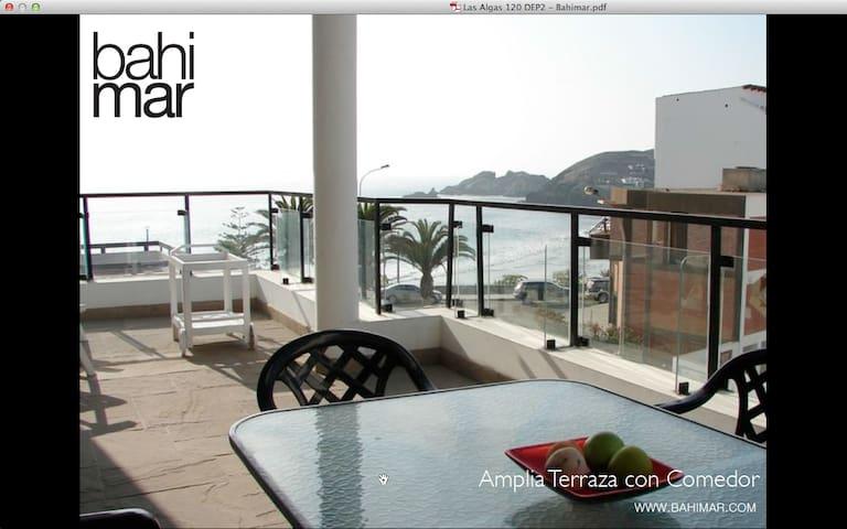 Depa de playa II santa maria - Santa María del Mar - Appartement