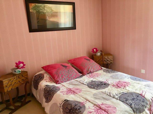 lit confortable, chambre calme
