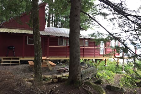 Gilman Pond Retreat - New Portland - Stuga