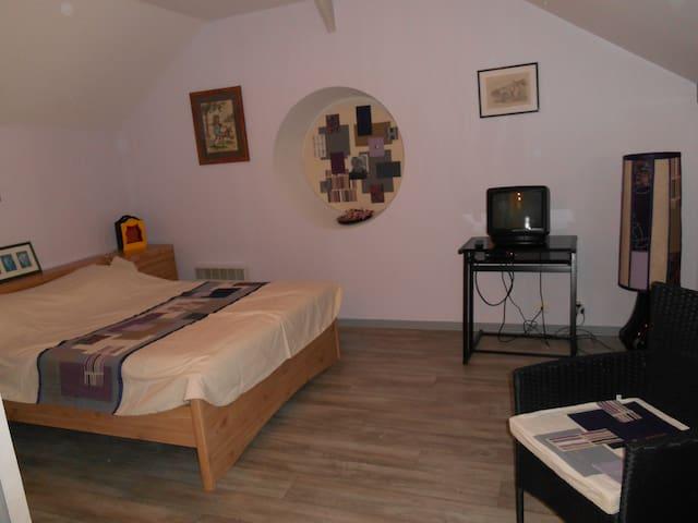 studio du chalet de Caharet - Pipriac - Apartment