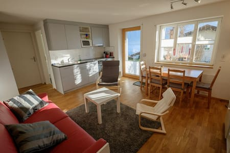Holiday apartment close to the lake - Faulensee - Apartment