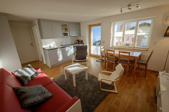 Holiday apartment close to the lake