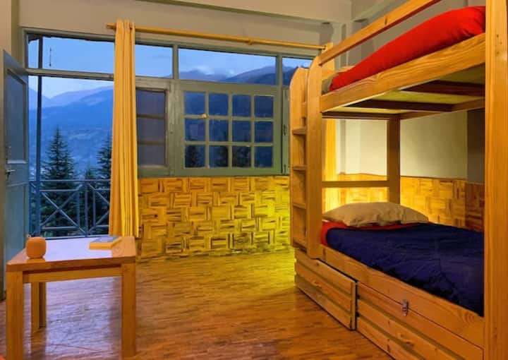 Cozy Dorm Bed in Playground Adventure Hostel